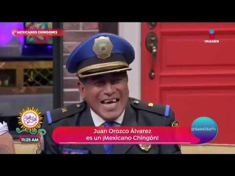 Mexicanos chingones: Juan Orozco Álvarez, policía políglota | Sale el Sol