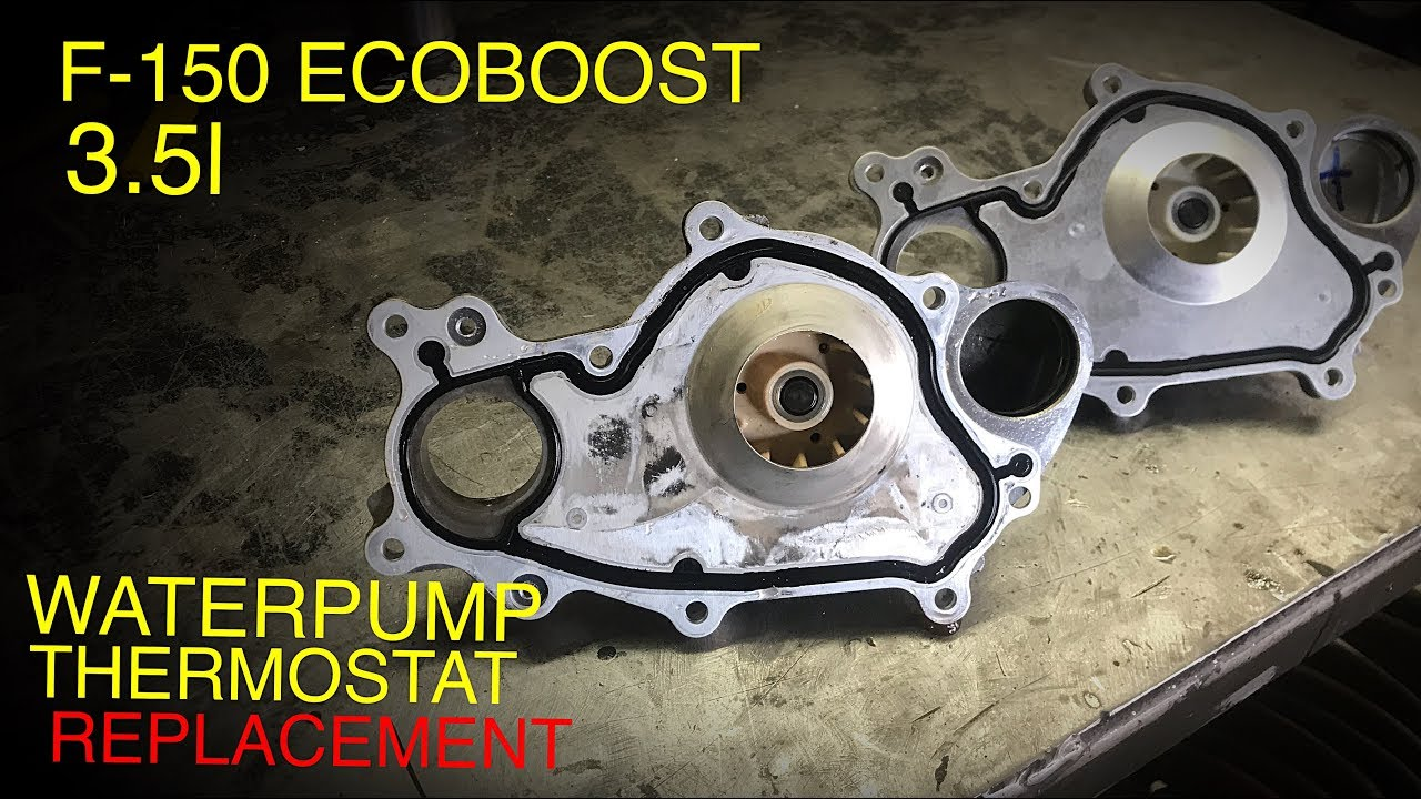 ford f150 4 2l engine diagram ford f 150 3 5l ecoboost water pump   thermostat replacement  ford f 150 3 5l ecoboost water pump