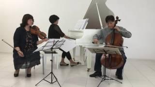 浜野正編曲によるピアノトリオ名曲集 演奏 ベルクトリオ.