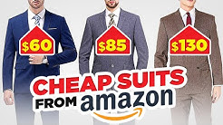 Style Expert Reacts To CHEAP (But HIGHLY Rated!) Amazon Suits