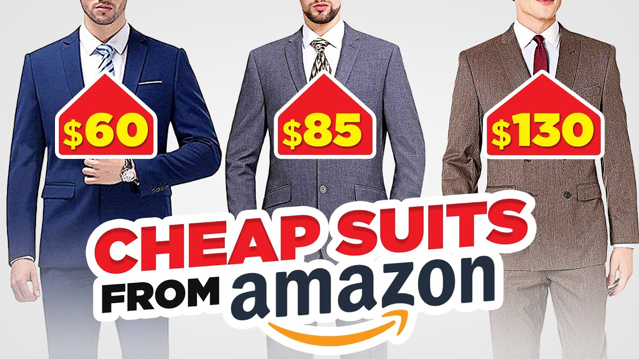 Style Expert Reacts To CHEAP (But HIGHLY Rated!)AmazonSuits