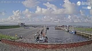 Preview of stream Live-Webcam Hafen in Dornumersiel