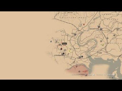 Rdr2 Karte.Red Dead Redemption 2 Mysteriöse Panorama Karte 2