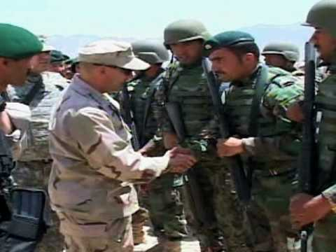 NATO's Supreme Allied Commander for Europe Reviews Afghan Troops