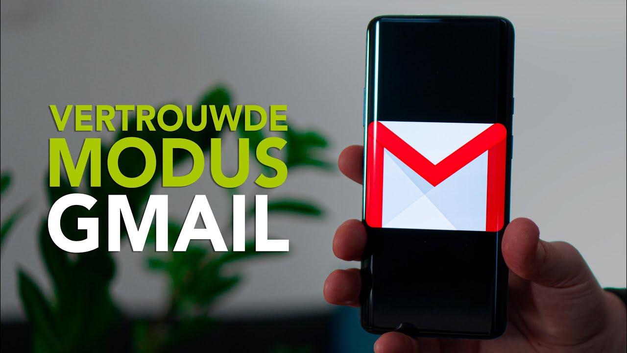 Zo gebruik je de vertrouwde modus van Gmail