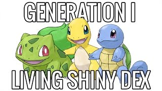 The Living Shiny Dex - Pokemon Generation I (UPDATED!)