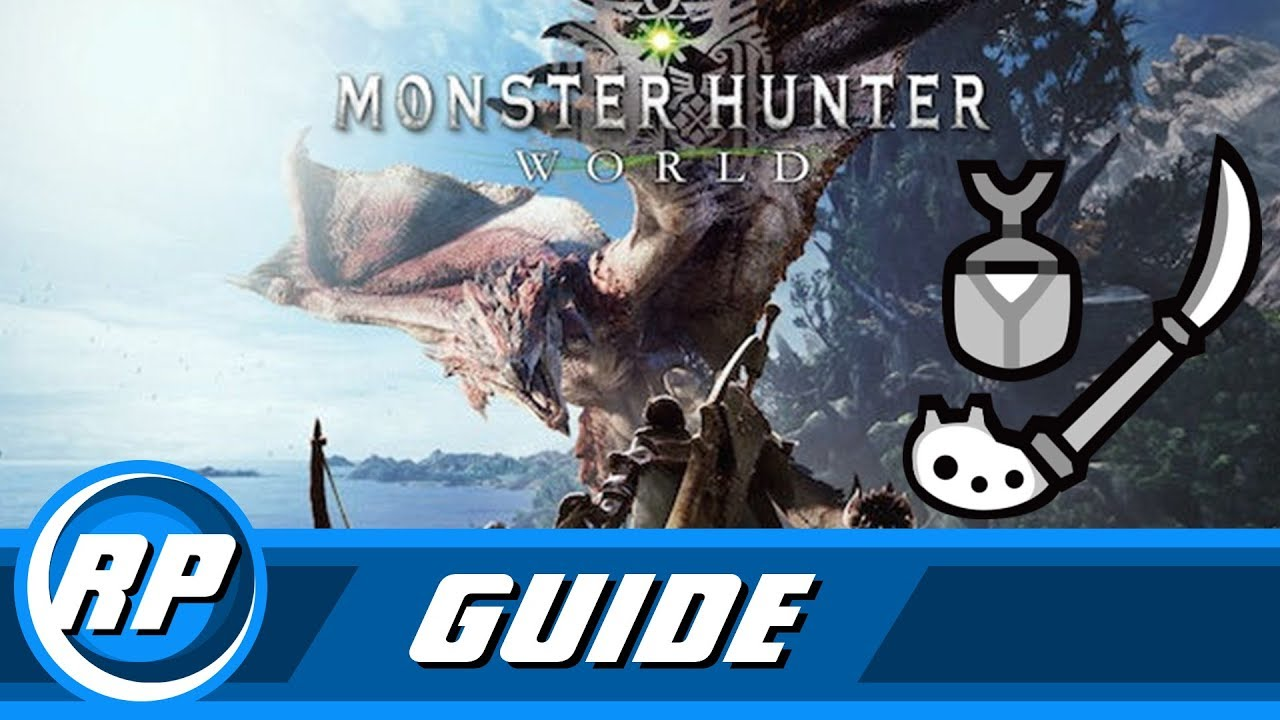Monster Hunter World Insect Glaive Progression Guide Obsolete