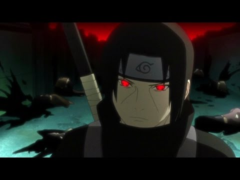 The Uchiha Clan AMV - Dark Horse (ROCK version)