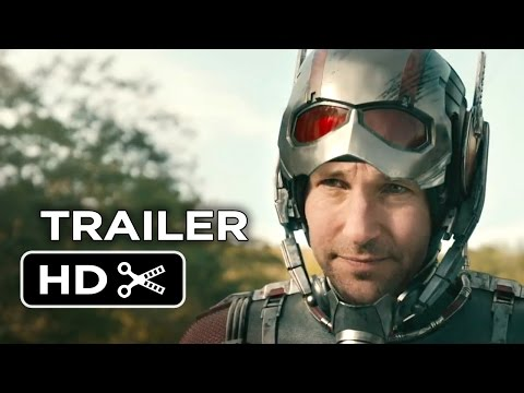 Random Movie Pick - Ant-Man Official Trailer #1 (2015) - Paul Rudd, Evangeline Lilly Marvel Movie HD YouTube Trailer
