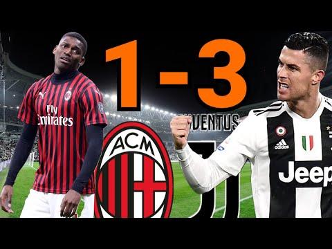 ไฮไลท์ฟุตบอล|กัลโช่เซเรียอาอิตาลี|เอซี มิลาน vs ยูเวนตุส