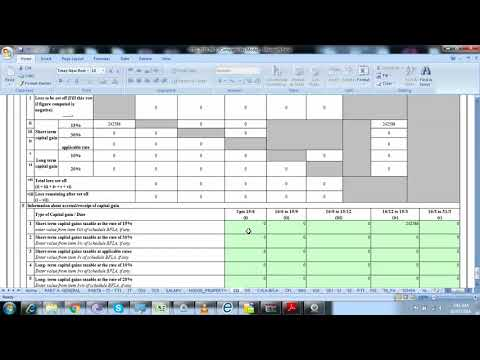 How to fill itr-2 for short term capital gains | STCG | AY 2018 19 | Section 111 A