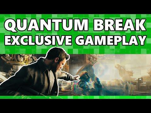 Стал известен размер Quantum Break и показан новый геймплейный трейлер