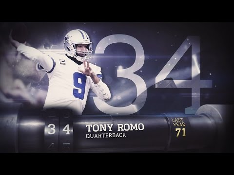 #34 Tony Romo (QB, Cowboys) | Top 100 Players of 2015