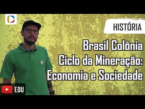História do Brasil - Brasil Colônia - Ciclo da Mineração: Economia e Sociedade