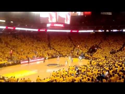 Golden State Warriors Crowd Goes Wild