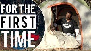 Black People Go Camping 'For the First Time'