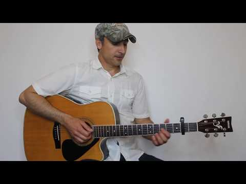 Wrapped - George Strait - Guitar Lesson | Tutorial