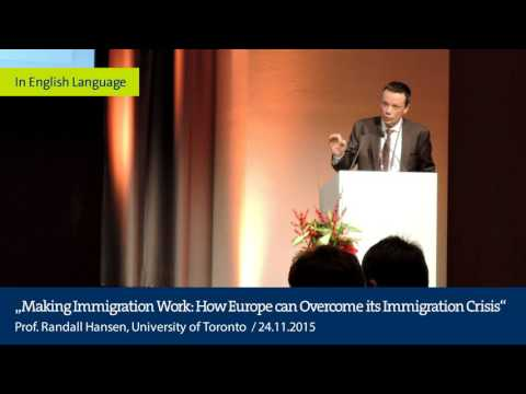 Audio: Making Immigration Work: How Europe can Overcome its Immigration Crisis