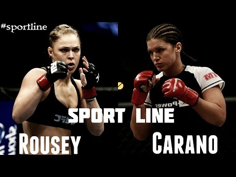 Ronda Rousey vs Gina Carano ll Stay Strong!