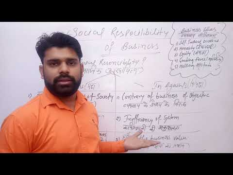 Social Responsibility of Business Class 11,[Part-1],Class 11 Business Study