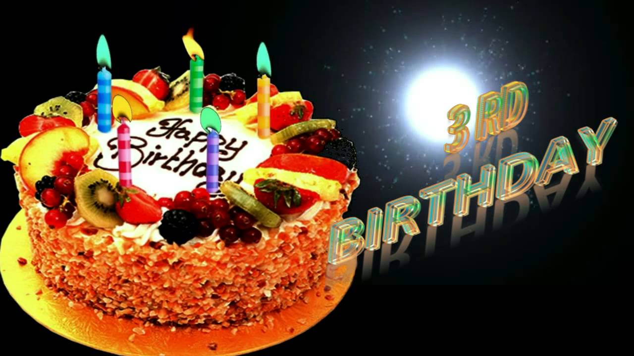 3rd birthday wishes whatsapp facebook greeting video youtube 3rd birthday wishes whatsapp facebook greeting video m4hsunfo