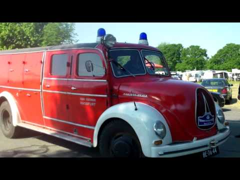 Classic car + RV caravan convoy , Oldtimer Markt Bockhorn 2015