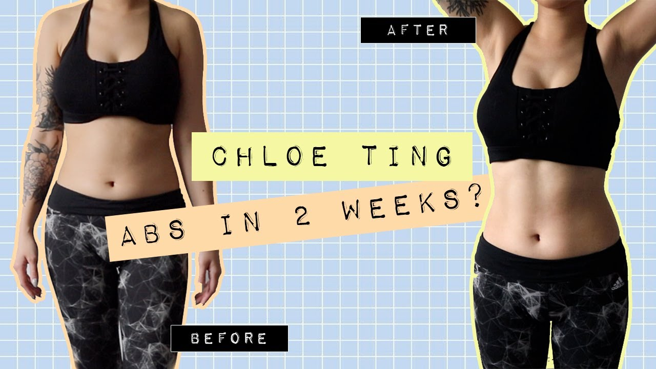 Abs in 2 weeks?! ♡ Trying Chloe Ting's 2 week abs shred ...
