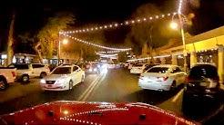 Driving Old Town Scottsdale, AZ Nightlife
