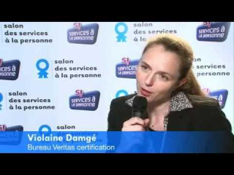 Violaine Damge, Bureau veritas certification france Services à la personne 2010