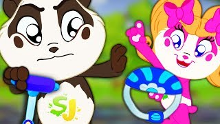 No No Safety Song | Panda Bo Nursery Rhymes & Kids Songs