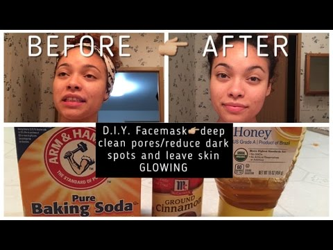 D.I.Y. FACE MASK👉🏼deep clean pores•reduce dark spots•leave skin GLOWING