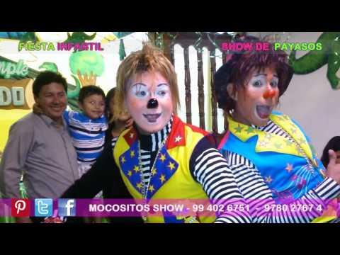 FIESTA INFANTIL   SHOW DE PAYASOS   FIESTA DE DINOSAURIOS   ATE LIMA PERU
