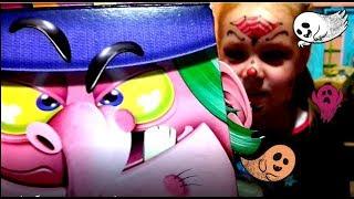 Коробка Бокс солодощів Хеловін. Halloween Sweet Box. Відео для дітей