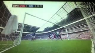 Andy Carroll header (FA cup semi final)
