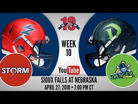 Week 10 | Sioux Falls Storm at Nebraska Danger