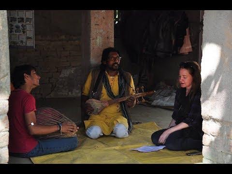 From Tappa To Kirtan - Katalin Burns' First Trip To Bengal