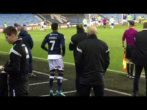 Tim Cahill returns Millwall v Cardiff City 09/02/2018