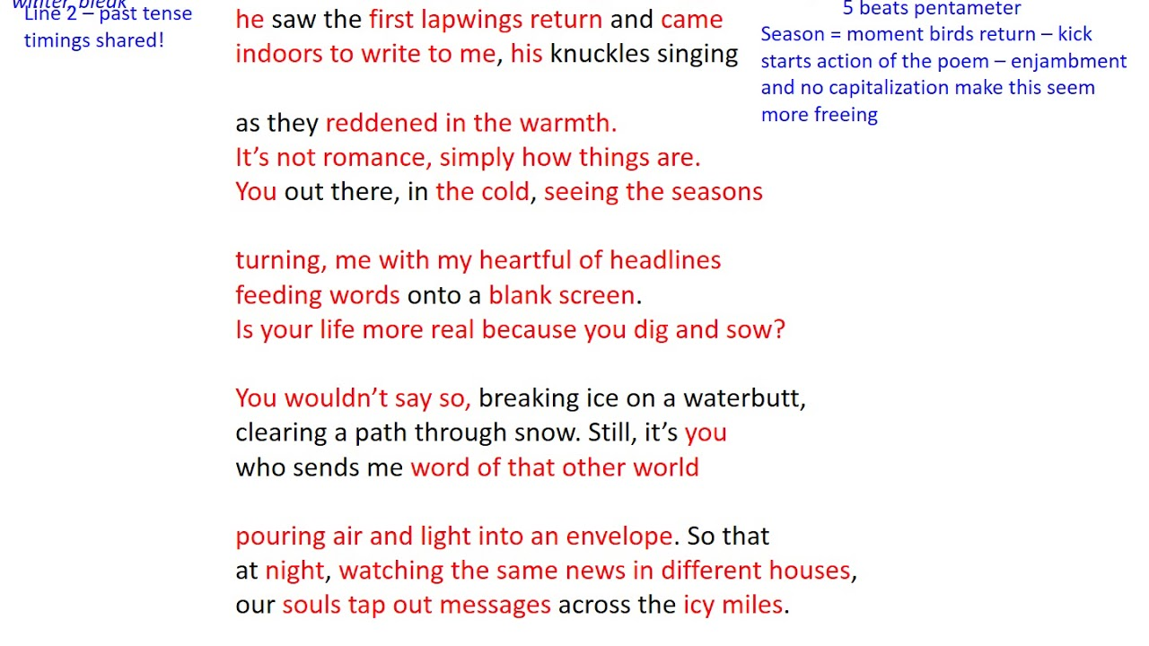 an analysis of the main themes in sonnet 29 Sonnet 29 paraphrase when, in disgrace with fortune and  29 reveals two  traumatic events that may have shaped the theme of the.