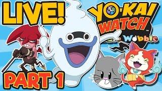 YO-KAI WATCH WIB WOB | Gameplay | Uptown Springdale [Part 1] Rare Rank A Yo-Kai