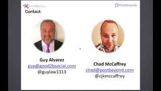 Social Media Amplification for Law Firms webinar with Post Beyond