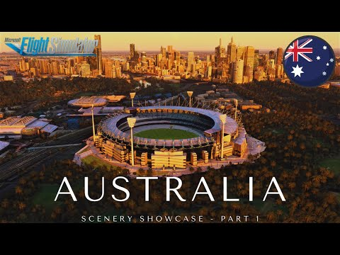 Microsoft Flight Simulator 2020   Australia Cinematic Scenery Showcase Ultra Graphics Part 1
