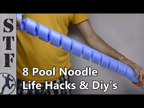 8 Pool Noodle Life Hacks & Diy's