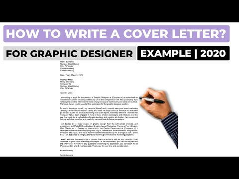 How To Write A Cover Letter For A Graphic Designer Job? (2020) | Example
