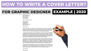 How To Write A Cover Letter For A Graphic Designer Job Example Youtube