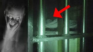 I Recorded Myself Sleeping In Haunted JAIL Cell