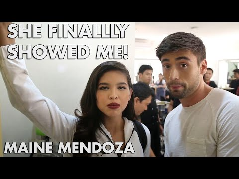 MAINE MENDOZA SHOWS ME HER HIDDEN TALENT (MY EAT BULAGA GUESTING)