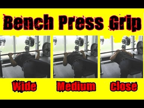 Best Bench Press Grip - How Wide Should You Grab The Bar ...