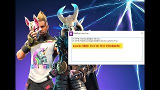 Fortnite Generic Error BattlEye: How to fix it