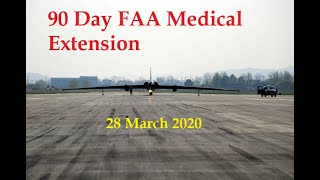 FAA Extends Medicals 90 Days, Early Pilot Retirements- Sat 28 March