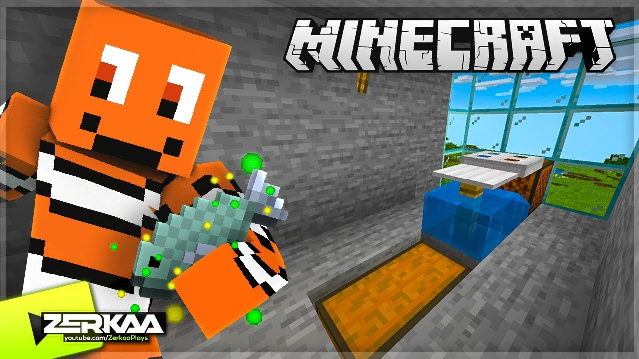 I Built An Auto Fish Farm For UNLIMITED XP & More! (Minecraft #10)